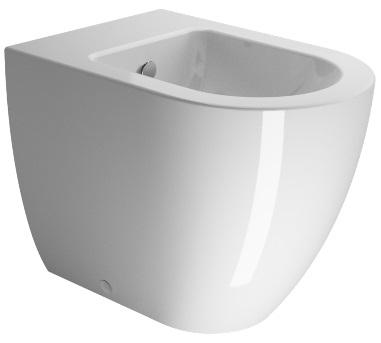 GSI pura 55 bidet a terra - SANITARI - Gsi - Outlet Ceramiche