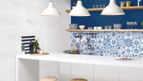 Vietri muretto a incastro bianco savoia outlet ceramiche
